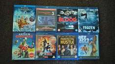 The Snow Queen, Ice Age 2, American Hustle Blu-Ray's & more [Poundland Blackpool]