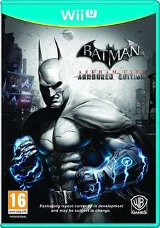 Batman Arkham City: Armored Edition used (Wii U) £5 in-store @ CeX