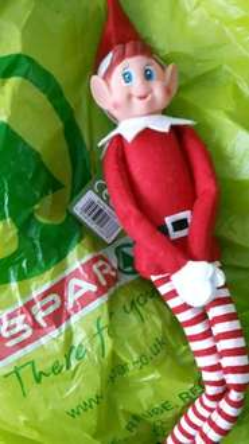 Elf (elf on a shelf) £4 in Spar