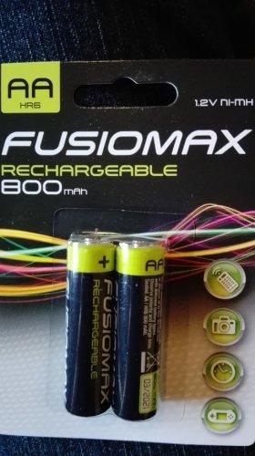 2 x AA 800mAh NiMH rechargeable batteries - £1 @ Poundland