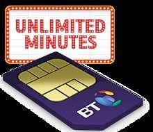 (BT customers) Unlimited calls/texts 500MB + £20 itunes voucher £5 per month 12 months £60