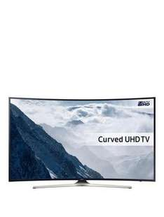 "UE55KU6100 55"" HDR 4k curved for £699 (+ £70 credit back with BNPL) @ Very"