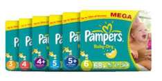 2 for 1 on selected Pamper Newborn nappies @ Boots