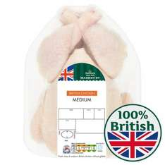 Medium Whole Fresh Chicken £3 (1.55kg / £1.94 per kg) at Morrisons