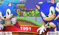 FREE Sonic 25th anniversary 3DS theme
