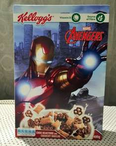 Kelloggs Chocolate Avengers Cereal 2 for £1.00 @ Heron Foods