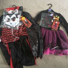 Halloween bargains@Morrisons (instore GOOLE). Full outfits for £1.50