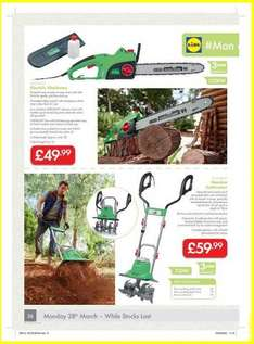 Lidl Florabest Electric chainsaw - Edinburgh Logie green road £10