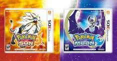 Pokemon Sun and Moon £29.99 each at Toys R Us, Free Delivery.