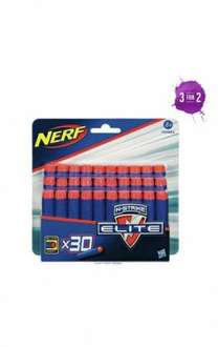 Nerf 30 N-Strike Elite Darts 3 for 2 - £10.82 @ Argos