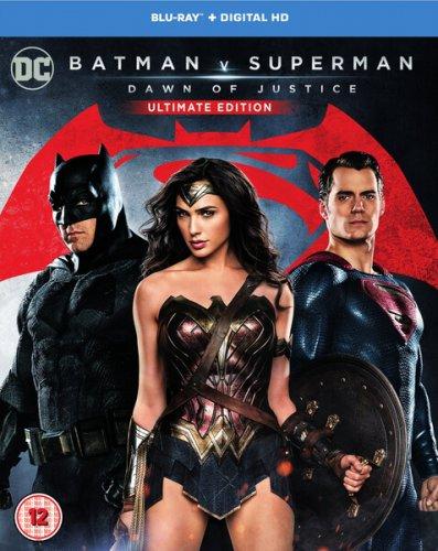 Batman v Superman: Dawn of Justice Blu-ray £9.99 Delivered @ Zavvi