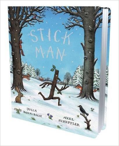 Stick Man Cased Hardcover - JULIA DONALDSON £2.10 AMAZON PRIME.