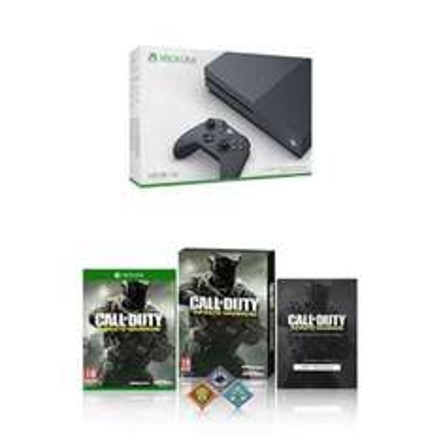 Xbox One S 500GB Console - Storm Grey - w/ Call of Duty: Infinite Warfare (Exclusive to Amazon) £259