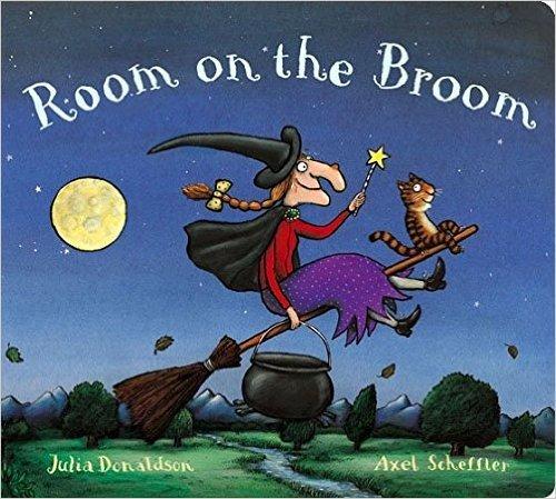 ROOM ON THE BROOM -Board Book- Julia Donaldson £2.10 AMAZON PRIME