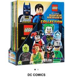 Lego superheroes collection 10 comics  - 78% OFF £14.99 @ TKMaxx (+£1.99 if using C&C)