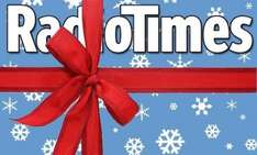 RadioTimes 12 issues delivered for £1 - inc. BUMPER XMAS ISSUE & BUMPER NEW YEARS ISSUE! @ Buy Subscriptions (£5 Quidco/£5.25 TopCashback)