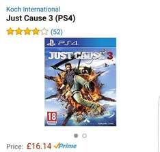 just cause 3 PS4 for £16.14 [Prime member exclusive] on Amazon
