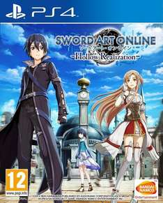 Sword Art Online: Hollow Realization PS4@Amazon 22.99 with prime/24.99 without