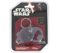 Star wars accessories reduced to clear Millennium Falcon bottle opener was £4.99 now 49p plus loads more from 9p inc Frozen and minions@ Argos