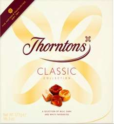 Thorntons Classic Mix Box of Chocs 511g £7 at Tesco online and instore