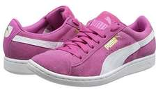 Puma Suede Women's Puma Vikky Low-Top Sneakers - Pink/White Size 6 (others sizes available prices vary slightly) £22.19@Amazon