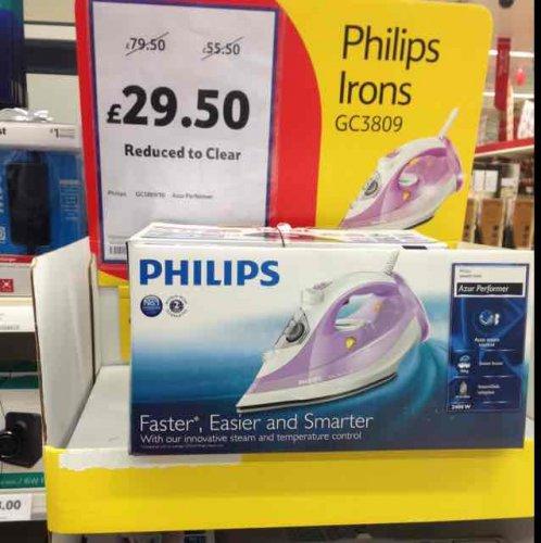 philips Azur iron gc3089  £29.50 @ Tesco