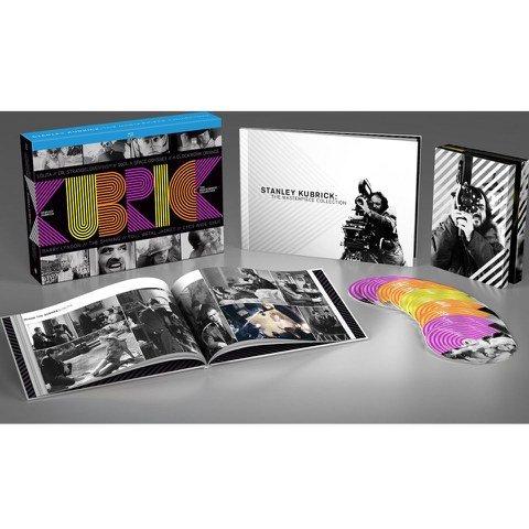 Stanley Kubrick: 8-Film Masterpiece Collection (10 Disc Blu Ray Boxset) with Hardback Book £22.49 delivered @ Zavvi [The Shining / Clockwork Orange / 2001: A Space Odyssey / Dr. Strangelove / Lolita / Full Metal Jacket + more]