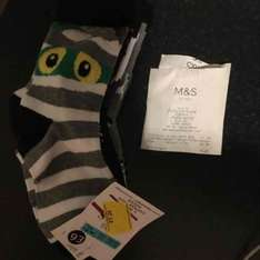 Marks and Spencer's boy's socks - £1.29