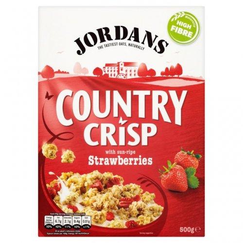 Jordans Country Crisp Breakfast Cereal (500g, all varieties) was £2.69, now £1.50 @ Morrisons