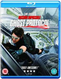 [Blu Ray] Mission Impossible: Ghost Protocol - £0.00 - Zoom