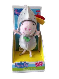 Talking Sir George plush (Peppa Pig) only £3.99 at Home Bargains