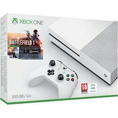 Xbox One S 500GB with Battlefield 1 £219.99 with free delivery (Minecraft bundle also available - Link in OP) @ Zavvi