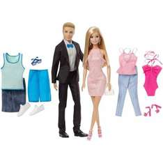 Barbie & Ken fashion packs £17.49 was £34.99 Smyths online and instore