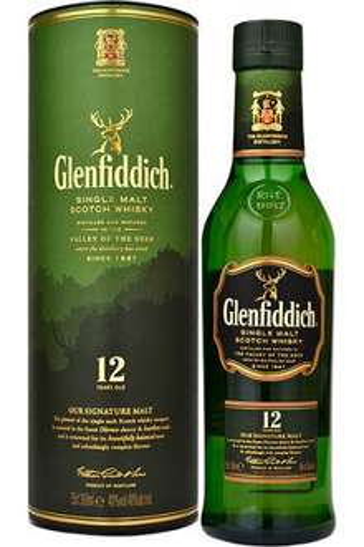 2x 35cl Glenfiddich 12 y/o (equivalent to a normal size bottle) £20 or £18 each @ Ocado