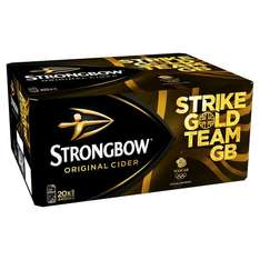40 x 440ml Strongbow & 4 Lindt Cocolate - Amazon Pantry - free delivery (Prime exclusive) - £25.56
