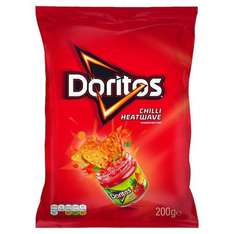 Doritos Cool Original / Lightly Salted / Tangy Cheese and Chilli Heatwave 200g was £1.98 now £1.00 @ Morrisons