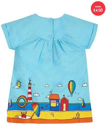 Little Bird by Jools Beach Scene Dress- £3.50 off £10.50 @ Mothercare (£1.50 c&c)