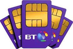 Bt sim only deal £5 p/m for 12 months - unlimited minutes / texts  £60 existing customers