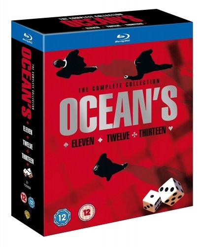 Ocean's Trilogy [Blu-ray] [2007] [Region Free] @ Amazon £7.99 (Prime)