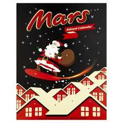 Mars Advent Calendar 111 g (Pack of 11) £9.99 @ Amazon