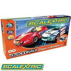 Scalextric cops and robbers set at Home Bargains for £49.99