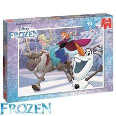 Disney frozen jigsaw puzzle at Home Bargains for £1.99