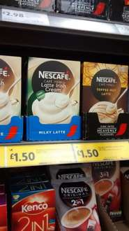Nescafe Cafe Menu Latte reduced to £1.50 at Morrisons