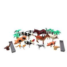 Jumbo tub of farm animal figures at Toy Shop for £10