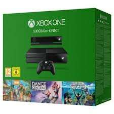 Xbox One with Kinect Holiday Value Bundle @ tesco direct for £179