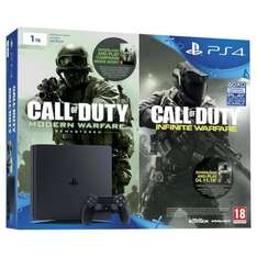 PS4 Slim 1TB Console Call of Duty Double pack + Tomb Raider £285.99 @ Tesco Direct