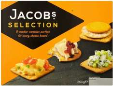 Jacob's Crackers Biscuits for Cheese(250g) £1 WAS £2.43 MORRISONS