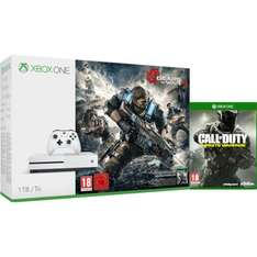Xbox One S 1TB Console With Gears of War 4 & Call of Duty: Infinite Warfare  £279.99 @ Zavvi