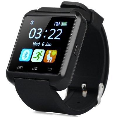 U8S Smart Bluetooth 3.0 Watch Outdoor Sports Smartwatch  -  BLACK at Gearbest for £7.37