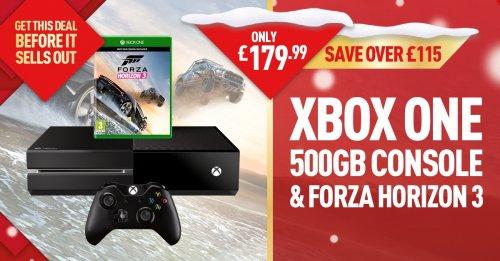 Xbox One with Forza Horizon 3 - £179.99 @ GAME